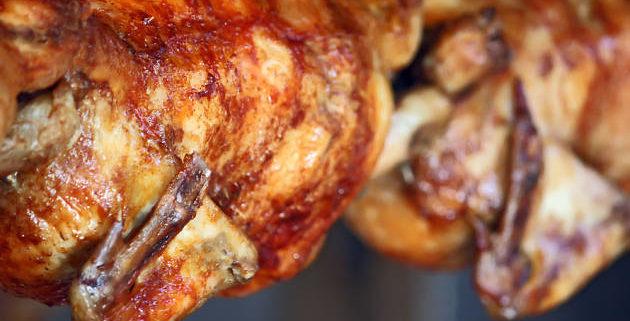 pollo a l'ast Girona